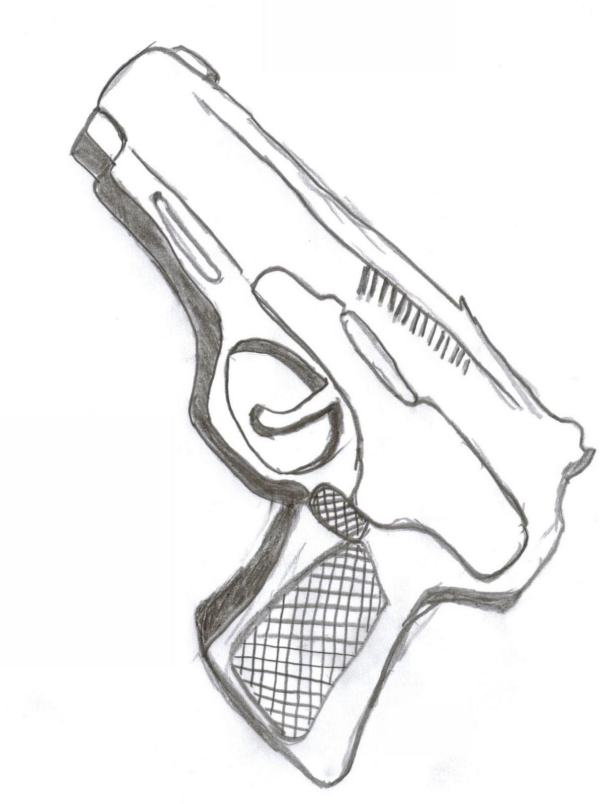 Dibujar Lapiz Armas Para
