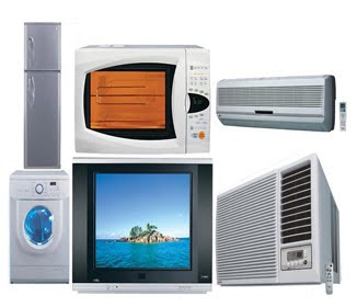 Variety Of Daily Use Electrical Appliances