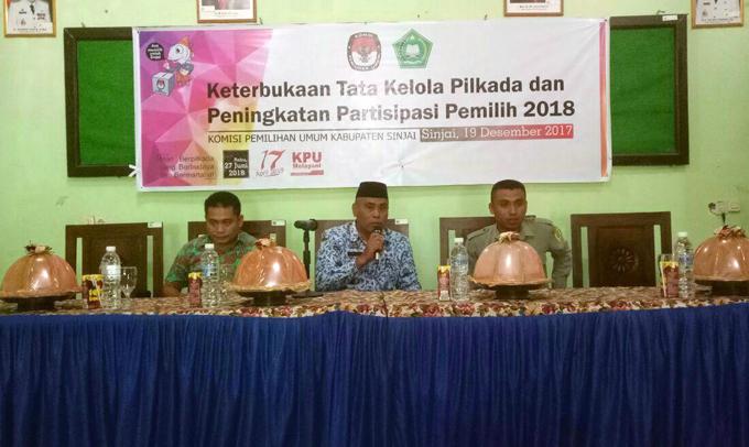 Sosialisasikan Tahapan Pilkada, KPU Sinjai Gandeng Tokoh-tokoh Agama