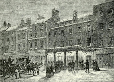 Haymarket Theatre in Regency London