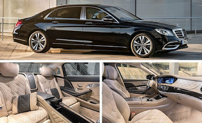Mercedes-Benz S-Class most luxurious car