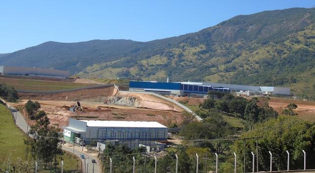 Setor industrial gera em Extrema o dobro de vagas de emprego que as 10 maiores do Sul de MG (Foto: Prefeitura Extrema)