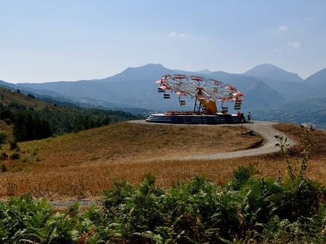 Potenza: l'opera dell'artista Carsten Holler a oltre mille metri di quota