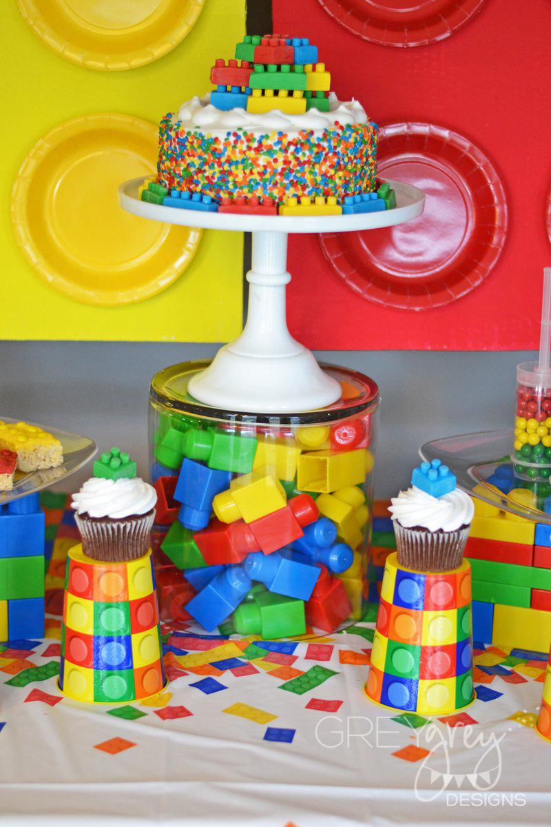 GreyGrey Designs: {My Parties} Lego Party