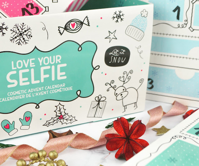 Technic Love Your Selfie Beauty Cosmetic Advent Calendar Review - Lovelaughslipstick Blog
