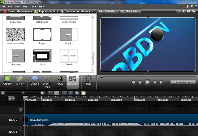 Camtasia studio 8 Video Edit Software free download 32 64 bit Full version Windows 7/8/8.1/10