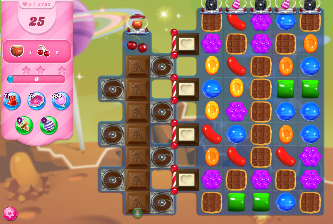 Candy Crush Saga level 4782