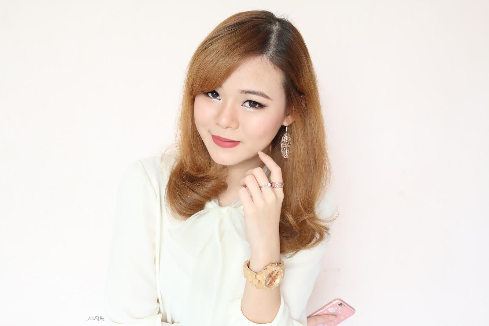 makeup, makeup tutorial, rose gold, rose gold makeup, tutorial makeup, tutorial makeup indonesia, makeup mudah, makeup pemula, valentine makeup, jeanmilka, jean milka
