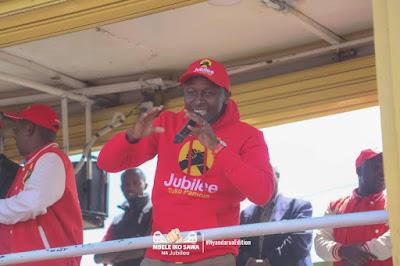 Jubilee in Nyandarua county. PHOTO | Courtesy