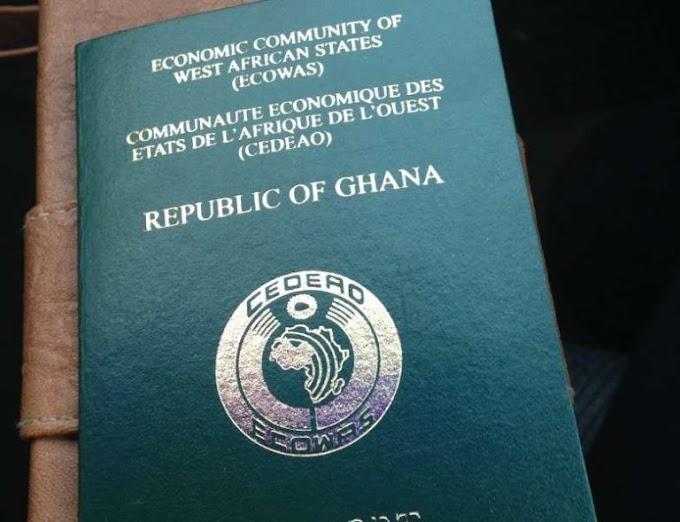 Validity of Ghana passport now 10yrs