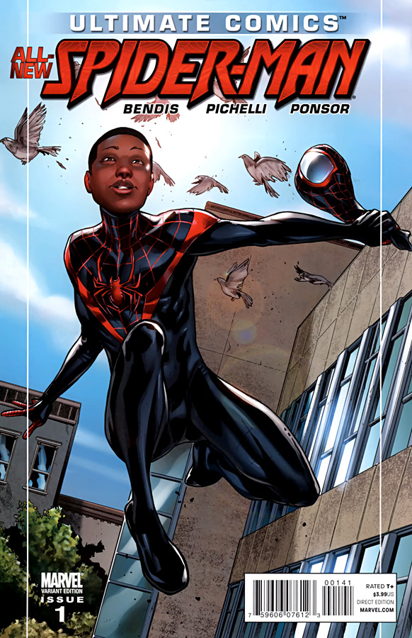 ULTIMATE COMICS – All-New Spider-Man #1 – JimShooter com