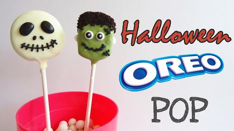 Halloween Oreo Pop 萬聖節Oreo棒