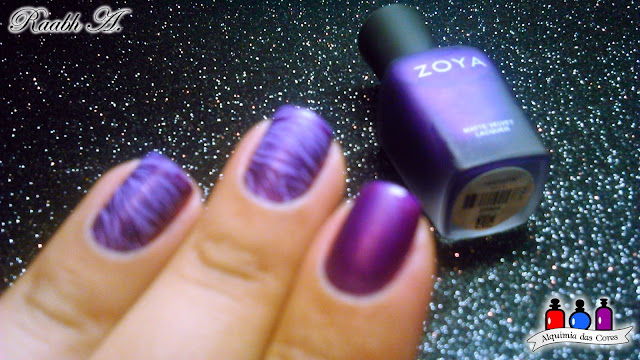 Zoya, Matte Velvet 2014, Raabh A., Matte, Fosco, Nail Art, DRK XL Designer 1,