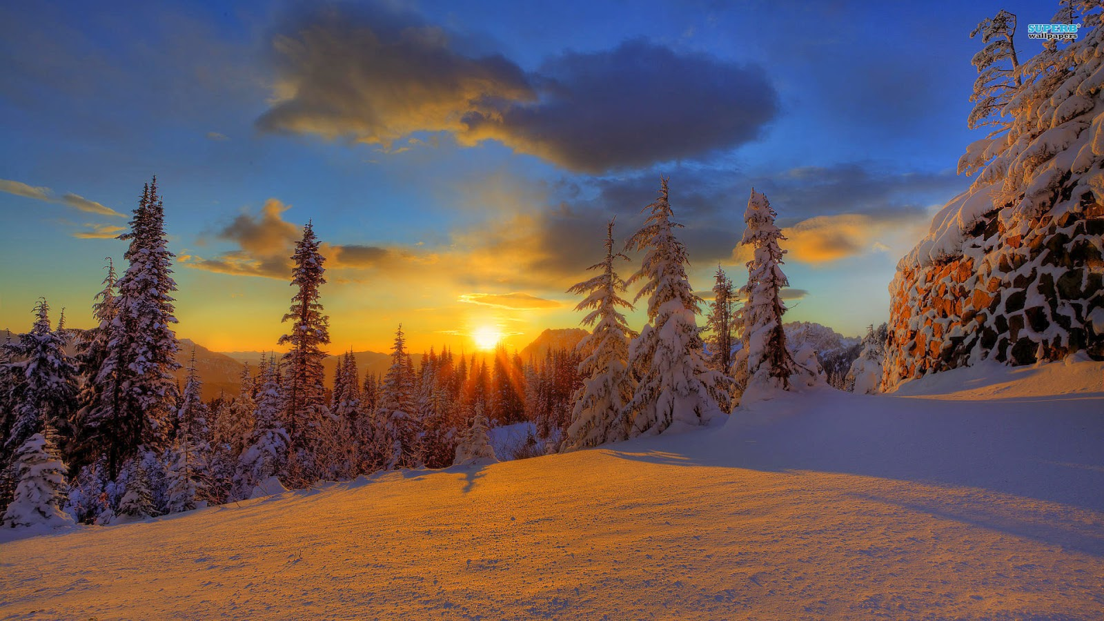beautiful-snowy-mountain-sunset-beautiful-nature-Images-wallpapers