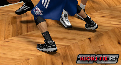 NBA 2K13 FILA Stackhouse Spaghetti Shoes