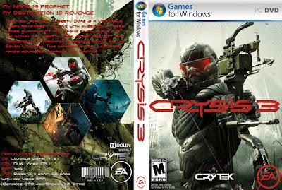 Jogo Crysis 3 PC DVD Capa