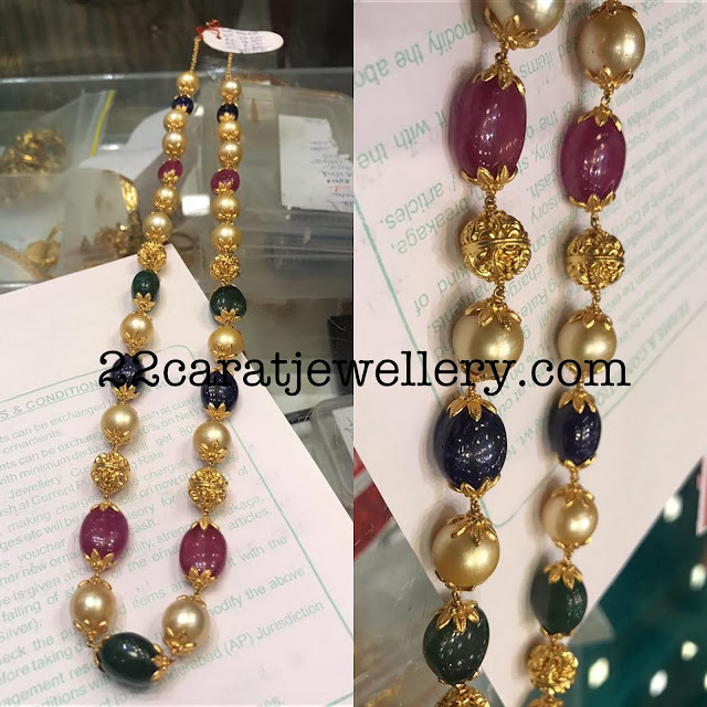Simple and Colorful Precious Beads set