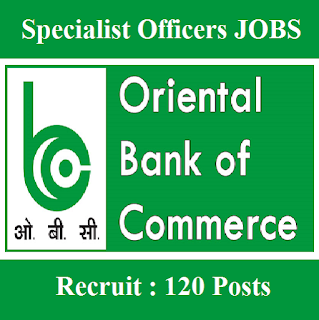 Oriental Bank of Commerce, OBC, freejobalert, Sarkari Naukri, Latest Jobs, Graduation, Specialist Officer, Manager, Bank, obc bank logo