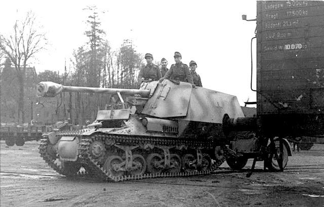 7.5 cm PaK40/1 auf Geschuetzwagen Lorraine Schlepper (f) или Marder I