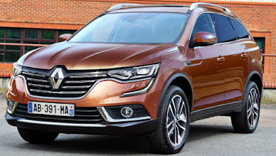 New 2017 Renault Koleos Facelift front look Hd Photos