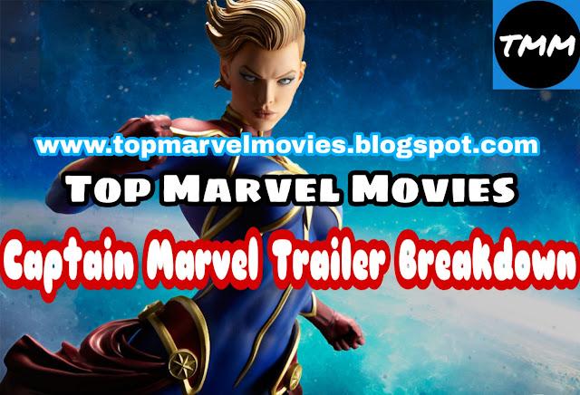Captain Marvel Trailer Revealed