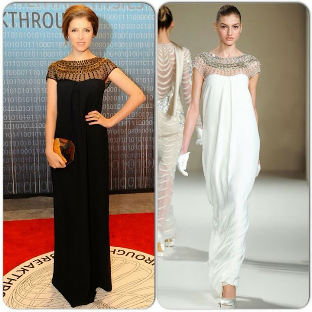 Anna Kendrick in Temperley London – Breakthrough Prize Inaugural Ceremony