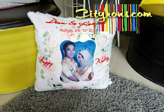 bantal kado wedding