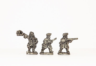MAL21    Dismounted dragoons (30)