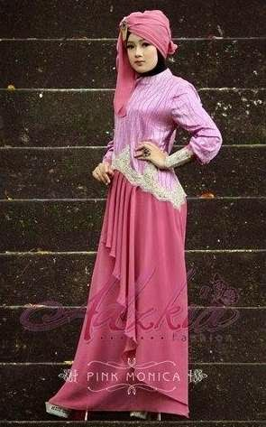 Model Baju Muslim Brokat Modern