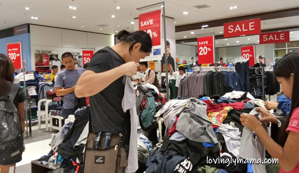 SM Store sale - SM City Bacolod - SM mallwide sale - bargain - shopping -save money - discounts- freebies