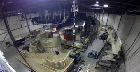 Un set in costruzione per la nuova serie Star Trek Discovery - TG TREK: Notizie, Novità, News da Star Trek