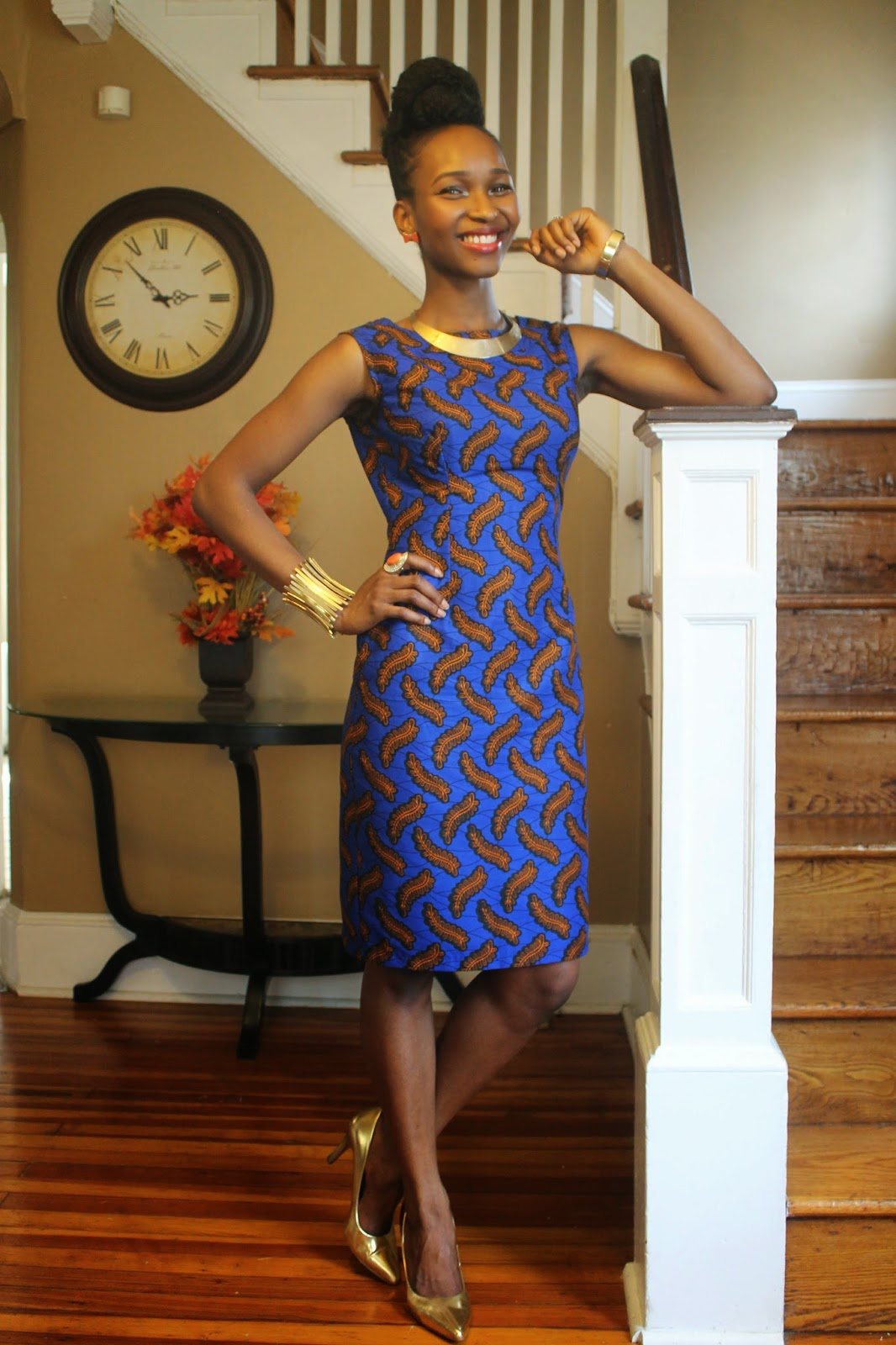 My Style Oasis, Ankara Sheath Dress