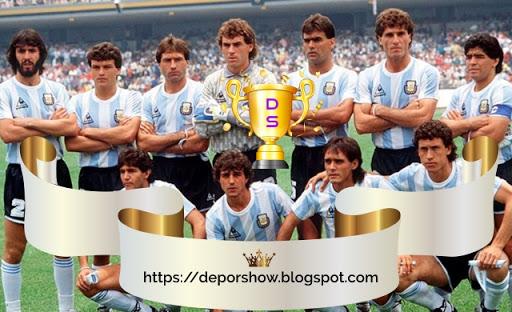A 10 días del inicio del Mundial Rusia 2018: Recuerdos mundialistas, en México 1986 con un Maradona sublime, Argentina grita campeón.