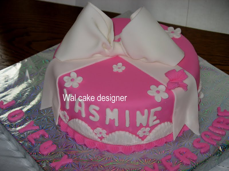 Atelier Wal Cakes Anniversaire De La Petite Yasmine Le 19 03 11