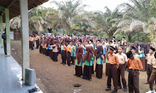 Rohis pertama tahun ajaran 2017-2018 Mts Miftahussalam