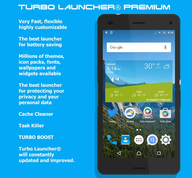 Turbo Launcher Premium Apk Downlaod