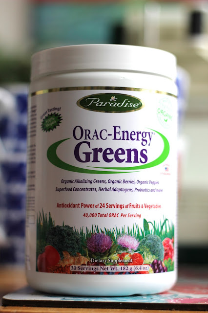 Paradise Herbs ORAC-Energy Greens review