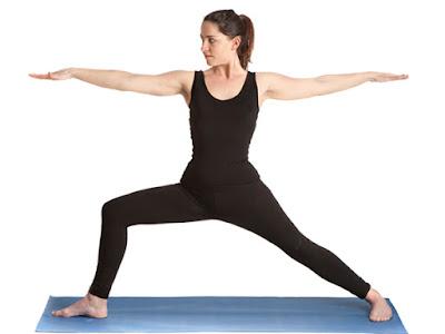 Bài tập yoga chiến binh