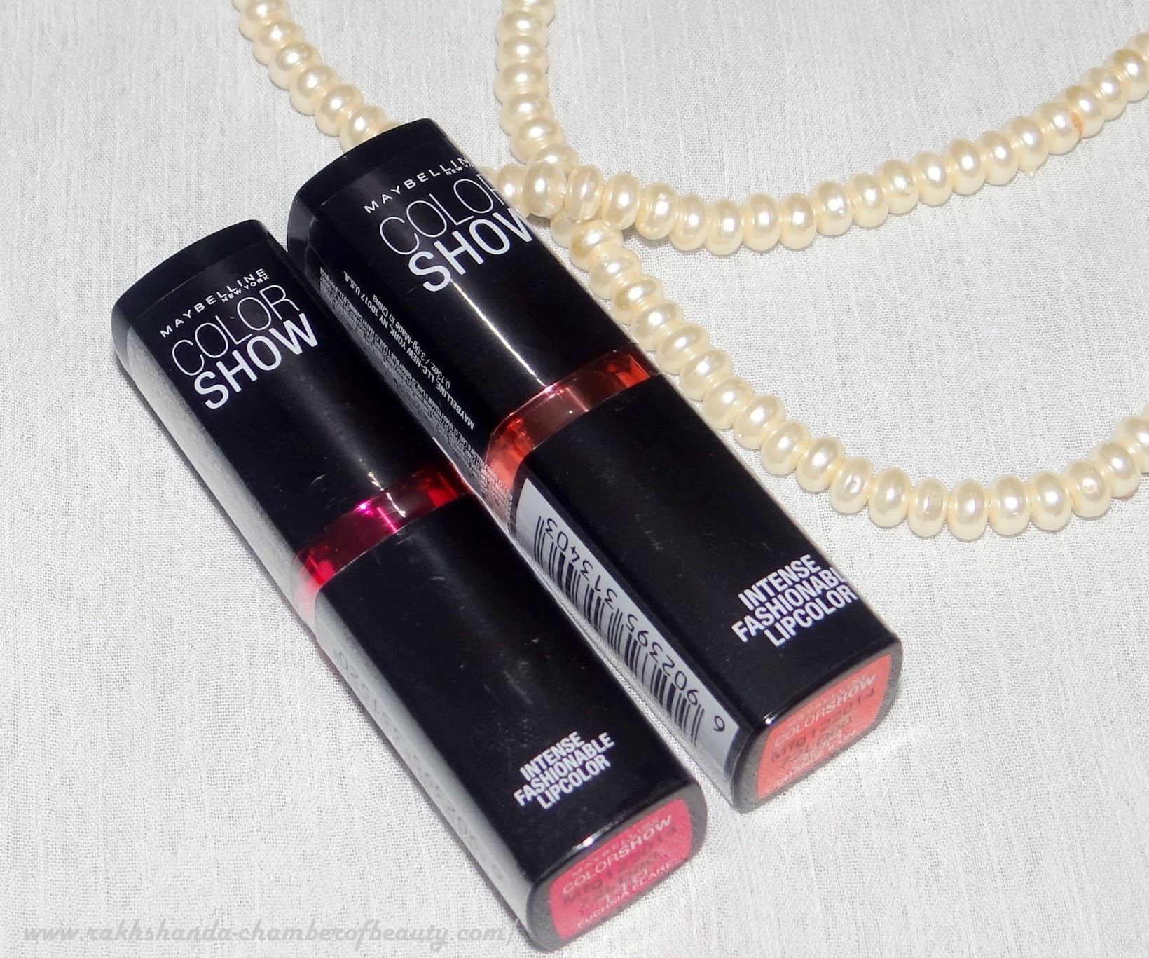 Maybelline NY Color Show Lipsticks- Review, swatches & price in India, Intense Fashionable lipcolor, Indian Beauty blogger
