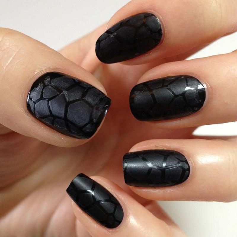 Black nail polish!