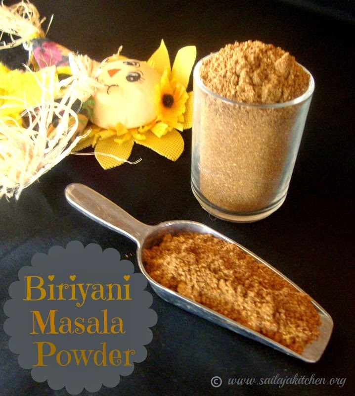 images for Biryani Masala Powder Recipe / Pulao Masala Powder / Biriyani Masala Powder - Homemade Biriyani Masala Powder