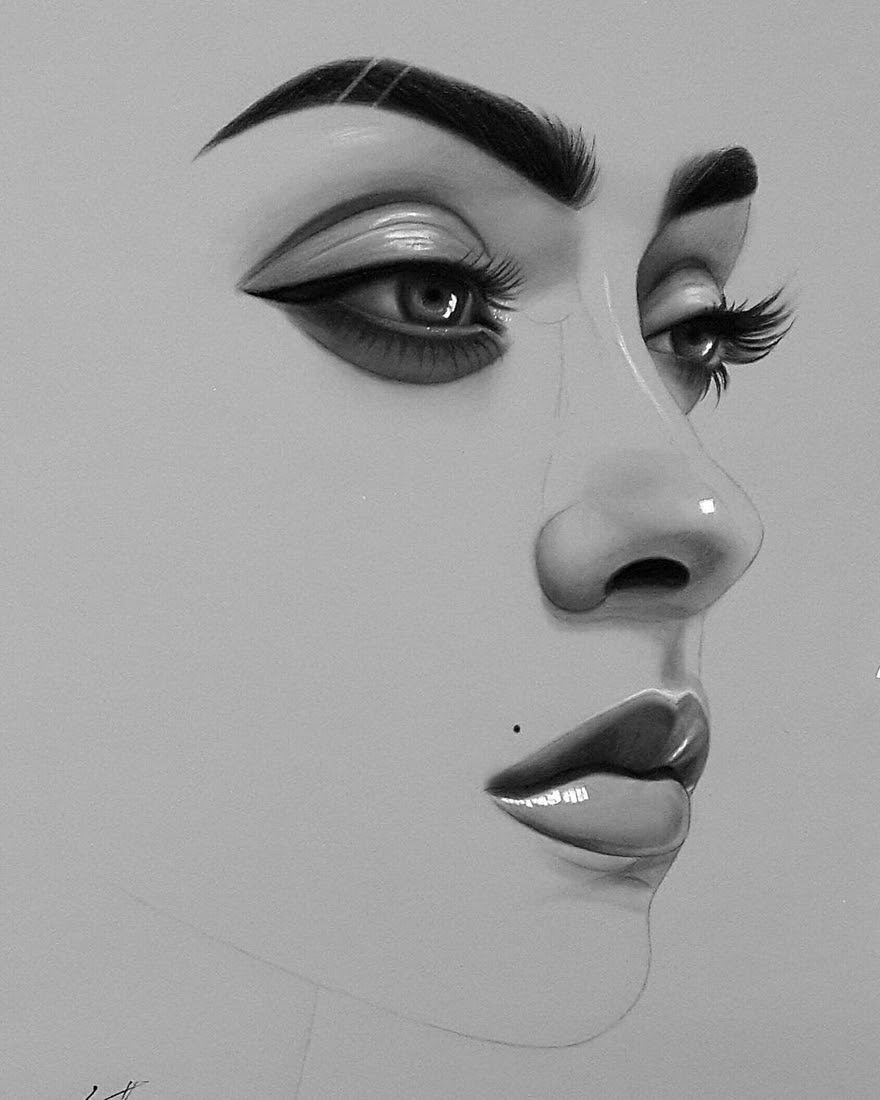 05-Husam-Waleed-Minimalist-Realistic-and-Stylized-Charcoal-Portraits-www-designstack-co