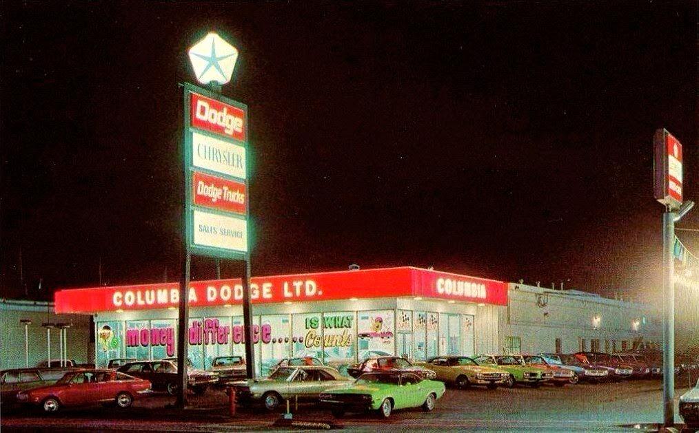 Just A Car Guy: 1970 Dodge dealership