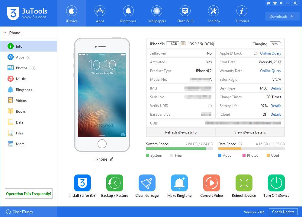 3uTools iTunes Alternative Software Best Desktop Software