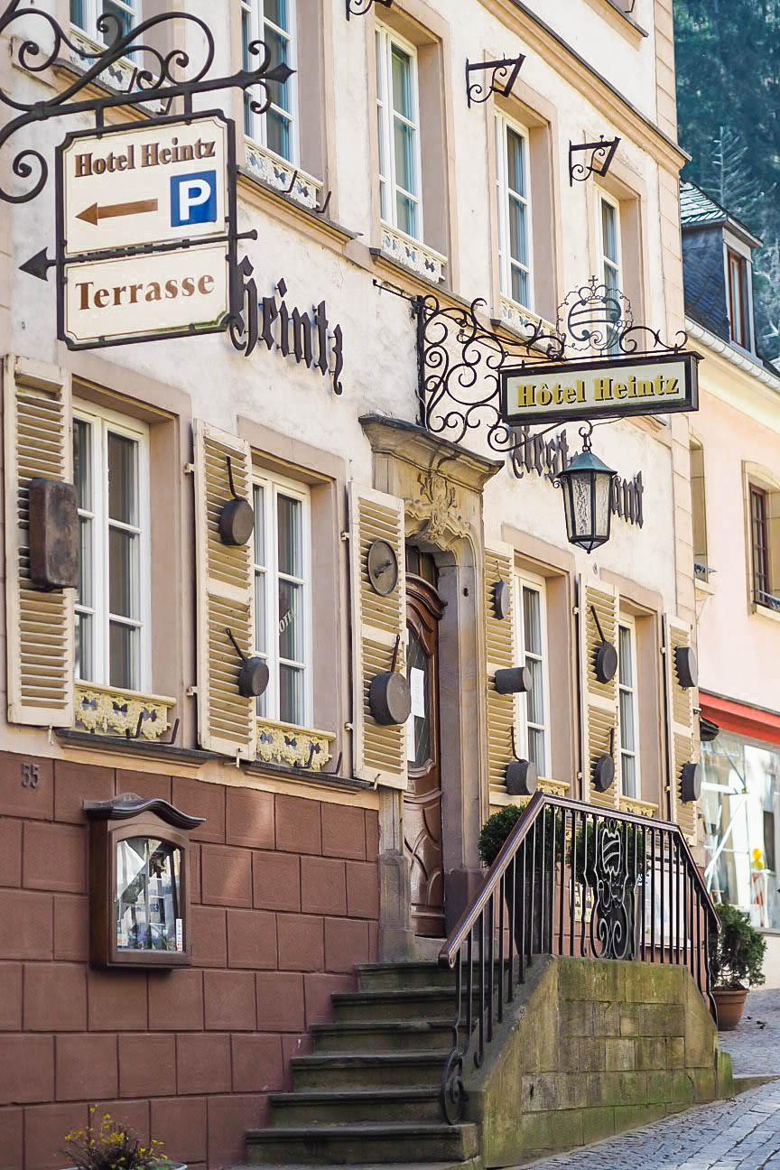 Hotel Heintz in Vianden