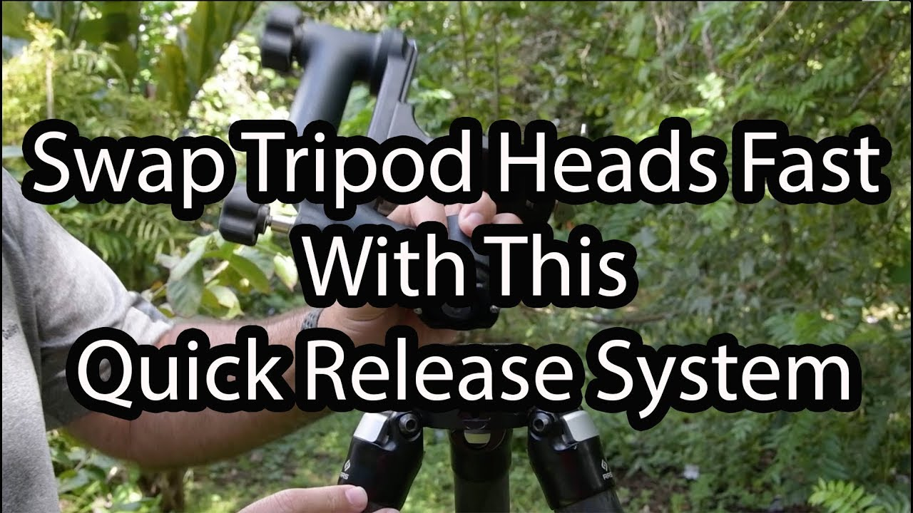 Swap Tripod Heads The Fast Way!