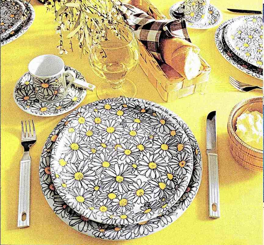 1976 dinnerware