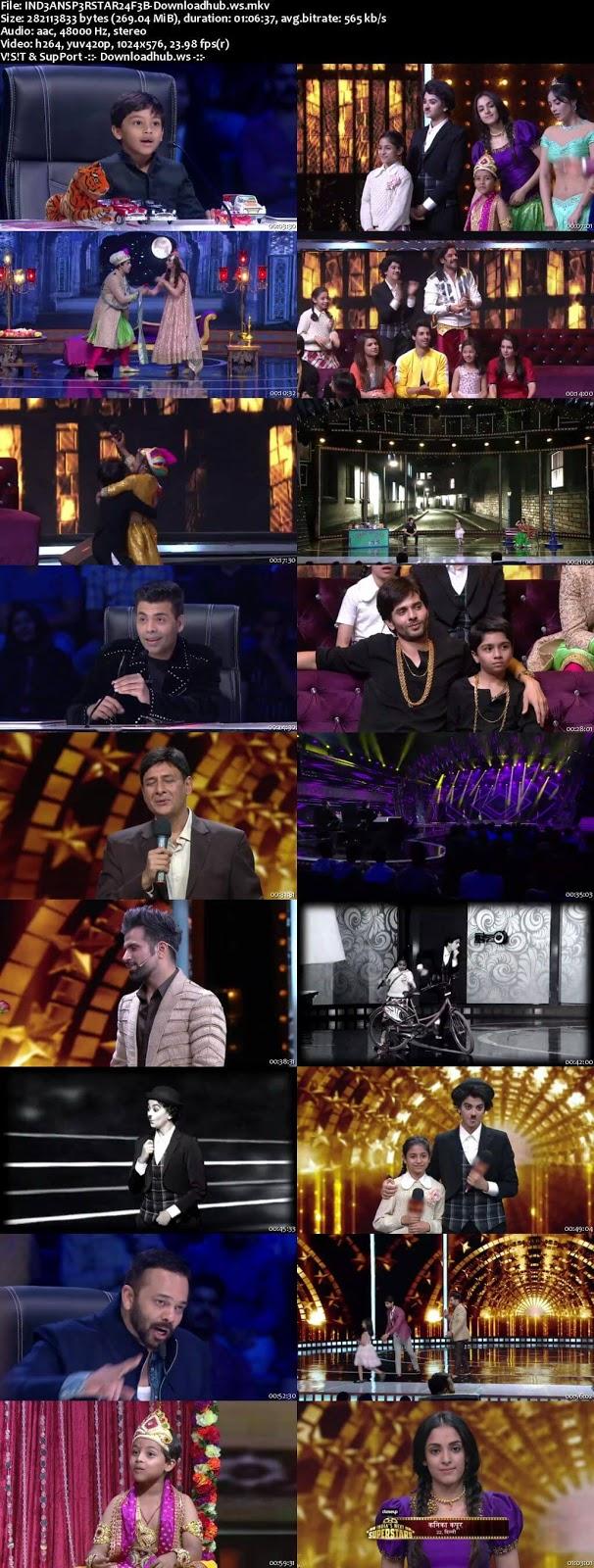 India's Next Superstars 24 February 2018 Episode 13 HDTV 480p