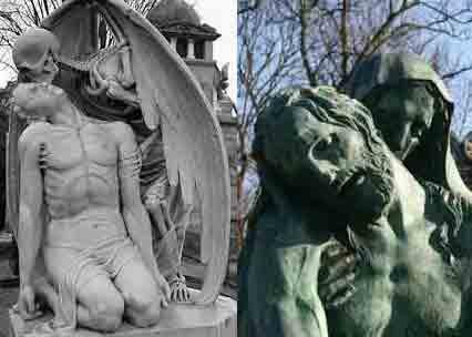 10 Patung Berikut Memiliki Wajah dan Bentuk yang Menyeramkan,Bikin Ngeri Aja