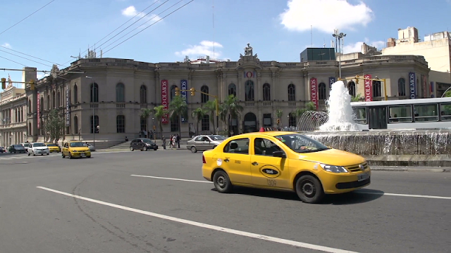 Gorjetas nos táxis em Córdoba